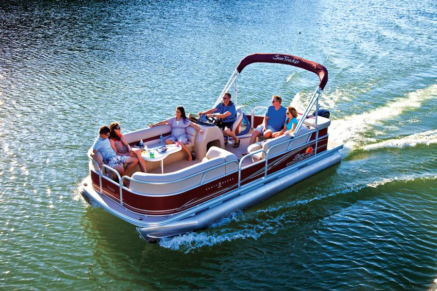 10 passenger luxury pontoon boat