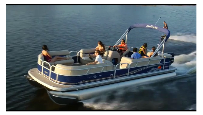 14 passenger luxury pontoon boat